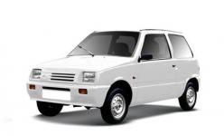 Lada ОКА 1990-2006, автомобильные коврики