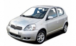 Toyota Yaris 1-е поколение 3D/5D 1999 - 2003, автоковрики