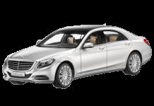 Mercedes S-класс (W222) 2013 - наст. время, ковры в салон