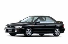 Subaru Impreza 1-е поколение (GC/GF/GM) Левый руль 1992-2000, коврики