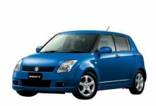 Suzuki Swift II правый руль 2004-2010, автоковрики