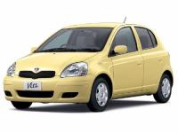 Toyota Vitz (P10) 1-е поколение, правый руль 1999-2005, коврики
