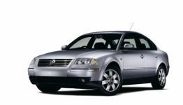 Volkswagen Passat B5+ седан 2001-2005, коврики