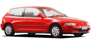 Honda Civic (EJ) 5-е поколение хэтчбек 1993-1996, автоковрики