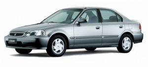 Honda Civic VI седан 1996-2000, коврики