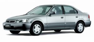 Honda Civic 6-е поколение (седан) 1995-2002, коврики