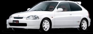 Honda Civic VI хэтчбек правый руль 1996-2000, ковры салонные