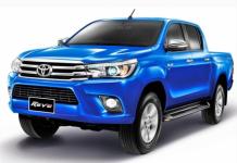 Toyota Hilux VIII 2015 и новее, коврики в салон