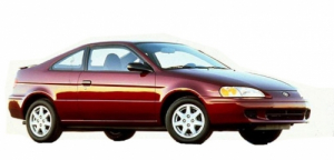 Toyota Paseo II 1995-1999, коврики в салон