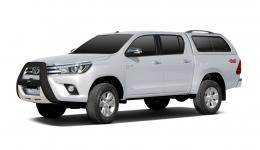 Toyota Hilux 7-е поколение 2004-2015, коврики в салон
