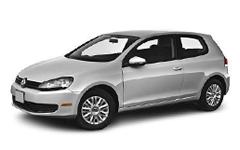 VolkswagenGolf 6-е поколение 2008-2012, коврик в багажник