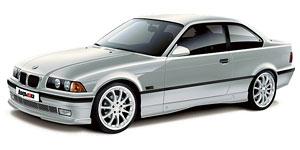 BMW 3 (E36) (купе) 3-е поколение 1990-2000, автомобильные коврики