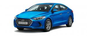 Hyundai Elantra 6 (AD) 2015 и новее, коврики