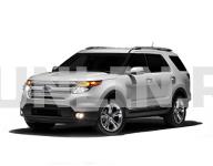 Ford Explorer 5 2011 - 2015, ковры в салон