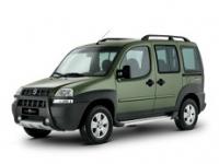 Fiat Doblo 1-е поколение (5 мест) 2000-2005, коврики в салон