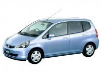 Honda Fit 1-е поколение 2001-2008 правый руль, автоковрики