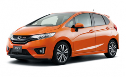 Honda Fit 3-е поколение 2013-2019, правый руль, автоковрики