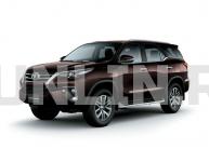 Toyota Fortuner 2 2015 и новее, автомобильные коврики