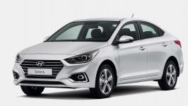 Hyundai Solaris 2-е поколение 2017 - наст. время, коврик в багажник