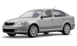 Skoda Octavia (A5) 2-е поколение 2004-2013, коврик в багажник