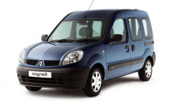 Renault Kangoo 1-е поколение 1997-2009 (пассажирский), коврики в салон