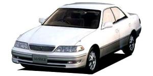 Toyota Mark 2-е поколение (X100) (правый руль) 1996-2002, коврики в салон