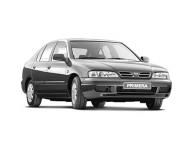 Nissan Primera (P11) (правый руль) 2-е поколение 1995-2002, коврики в салон