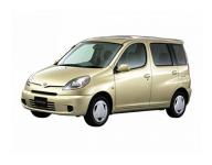 Toyota FunCargo 1999 - 2005 правый руль, ковры в салон
