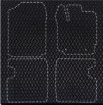 Dunlin DIY - комплект для четырех ковриков (черный)