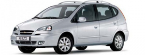 Chevrolet Rezzo 2004 - 2010 минивэн, ковры в салон