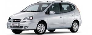 Chevrolet Rezzo 1-е поколение 2000-2008 минивэн, коврик в багажник
