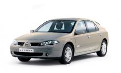 Renault Laguna 2-е поколение 2001-2008, коврики