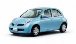 Ковры салонные Nissan March (K12) 2002 - 2010 правый руль