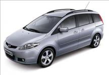 Mazda 5 (CR) 1-е поколение  2005-2010, автомобильные коврики