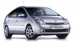 Toyota Prius (XW20) 2-е поколение 2005-2009, коврики в салон