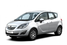 Opel Meriva B 2010-2018, автомобильные коврики