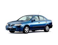 Nissan Almera (N16) Tino правый руль 2000 - 2006, автомобильные коврики