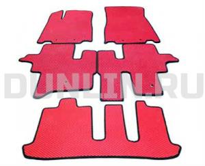 Автомобильные коврики Nissan Pathfinder 4 (R52) 7 мест