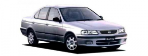 Nissan Sunny (B15) (седан) 1998-2004, ковры в салон