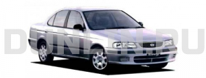 Nissan Sunny B15 Седан 1998-2004, ковры в салон