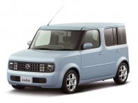 Nissan Cube II (Z11) прав. руль 2002 - 2008, коврики в авто