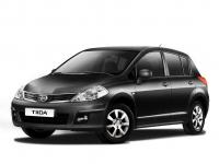 Nissan Tiida (правый руль) 1-е поколение 2004-2013, коврики в салон