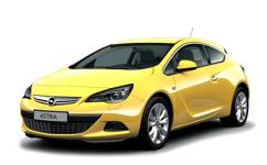 Opel Astra J GTC 2010 и новее, ковры в салон