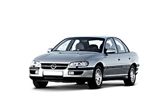 Opel Omega B 1994 - 1999, ковры салонные