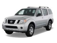 Nissan Pathfinder 3 (R51 рестайлинг) 5 мест 2010 - 2014, коврики в салон