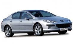 Peugeot 407 2004-2011, коврики в салон