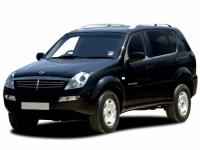 Ssang Yong Rexton 1-е поколение, 2001-2007, автомобильные коврики