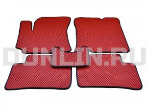 KiaRio 3-е поколение(дорестайлинг) 2011-2015, коврики в салон