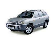 Hyundai Santa Fe Classic 1-е поколение 2000-2012,  коврик в багажник