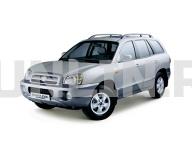 Hyundai Santa Fe 1 Classic 2000 - 2012, коврики в салон